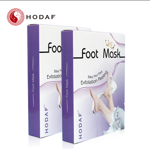 Antifungal Exfoliating Foot Peel Mask with Lavender Scented for Soft Baby Foot