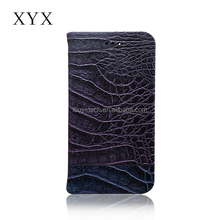 Universal Mobile Phone Cases Luxury Crocodile Pattern Folded Wallet Leather Case For Samsung Galaxy j7