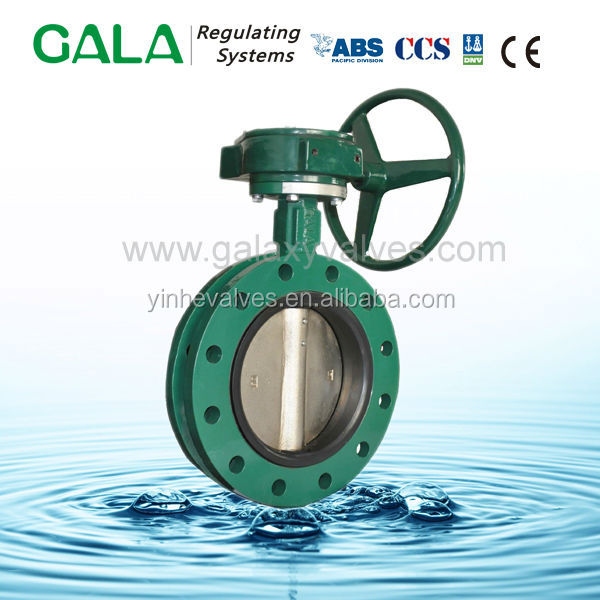 Class 125 Ductile Iron Valve Bronze Bushing Butterfly Valve manufacturers