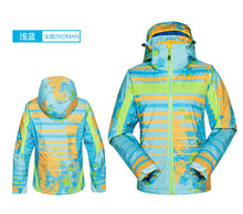2015 Functional Waterproof&Breathable Jacket Woman Winter For Outdoor Hiking