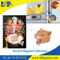 Souvenir fridge magnet animal cougar for promotion