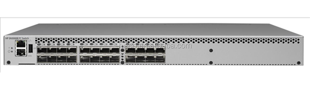 QW937A SN3000B 16GB 24-Port/12-Port Active Fibre Channel Switch