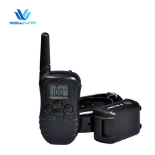 Good Quality Waterproof Rechargeable 4 in 1 Remote 2 Pet Animal Tracking Training Collars Device for 2 Dogs