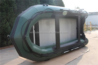 7 person speed boat ASA-420 inflatable aluminium salvage boat with CE certificate!