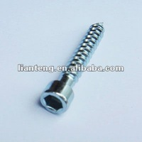 stainless Steel hex socket cap self tapping screw