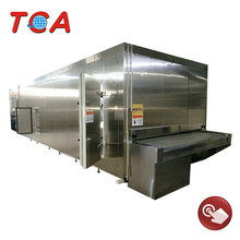 hot sale iqf tunnel freezer of quick frozen machine