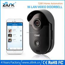 Remote unlock door bell camera Cobell HD 720P wifi wireless video intercom with door release