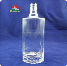 Glass bottle manufacturers supply bottles for vodka, wine, whiskey and olive oil