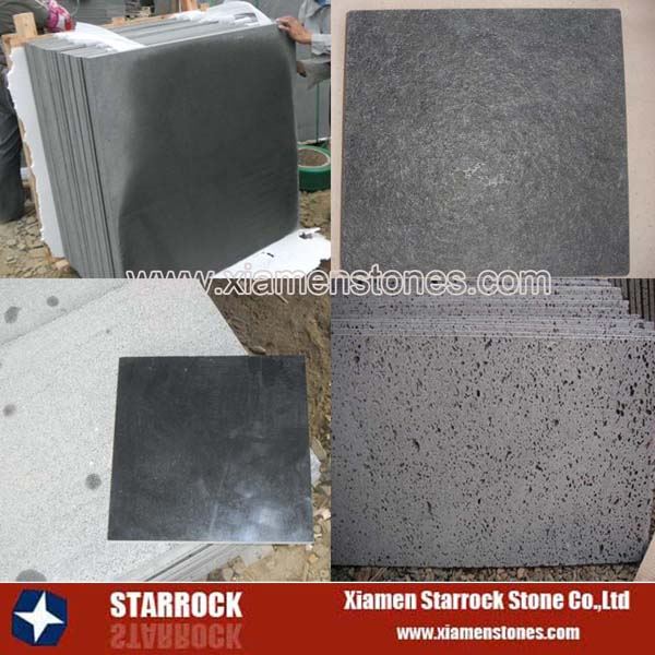 Natural basalt stone black basalt