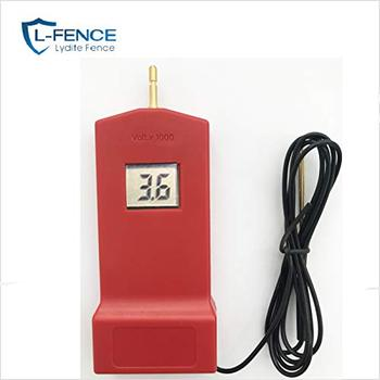 High Voltage Electric Fence Security Fence Tester ABS Plastic DVM Tester