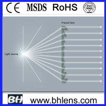 BHPA120-2-A Optical Usage and paper sheet card Shape Fresnel lens
