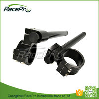 Performance 50mm CNC Aluminum Riser Scooter Clip On Racer Handle Bar For Yamaha YZF R1 R6