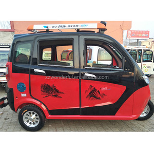 2018 new design passenger adult electric tricycle three wheel electric tricycle adults