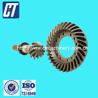 Professional Manufacturingd Crown Gear and Pinion with High Hardness