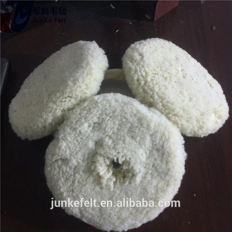 New design auto buffing balls/wool polishing pad with high quality