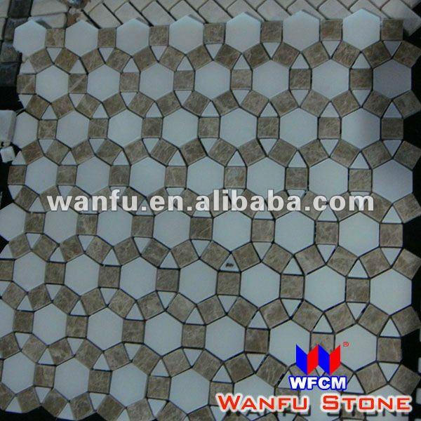 runde kreis marmor mosaik badezimmer fu boden fliesen mosaik produkt id 575205496. Black Bedroom Furniture Sets. Home Design Ideas