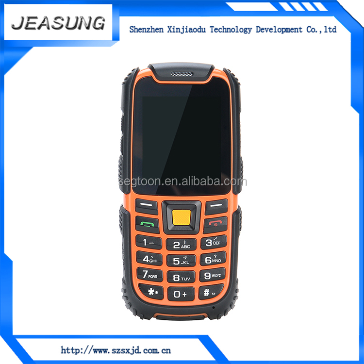 IP68 low price emergency sos elderly cellphones , protective mobile cellphone case
