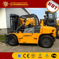 China Lonking 10ton diesel forklift truck semi manual forklifts LG100D(T)