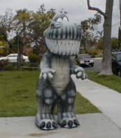 Funny inflatable dinosaur costume,dinosaur model for sale