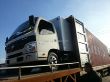 cargo dry box van truck frp refrigerated truck body box/cold van body
