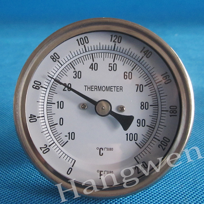 Bimetal thermometer industrial thermometer