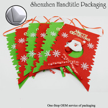 wholesale Christmas flag Christmas banner christmas streamer