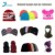 Wholesale custom men knitted acrylic spandex adult Jacquard winter hat kids ports beanie