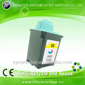 Top qulity refill ink cartridge for lexmark LM60