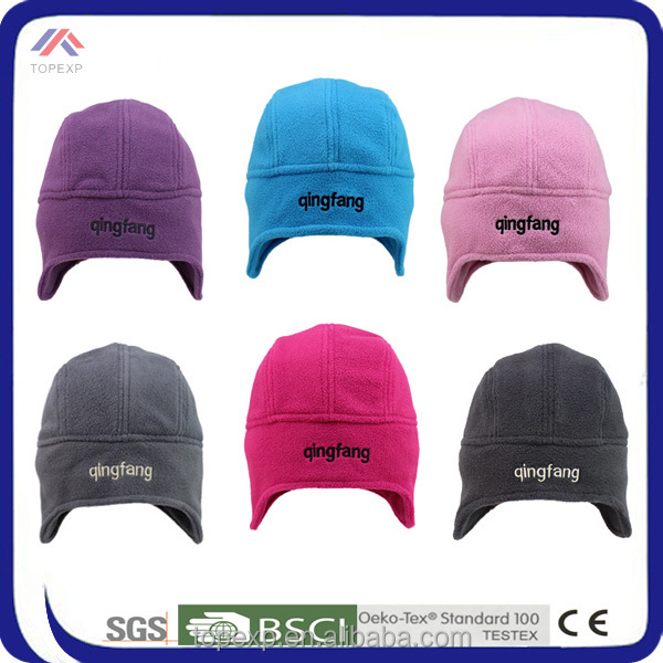 high quality hot selling new style army winter polar fleece hat