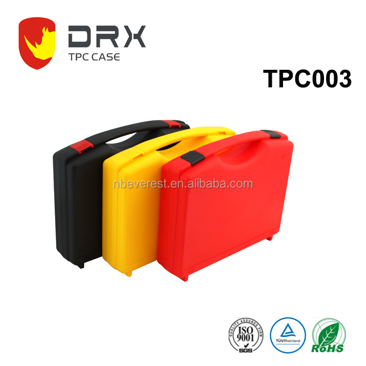 Hard plastic custom carrying tool case for medical devices