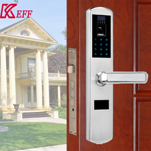 Indoor electronic security rfid hotel lock for steel door