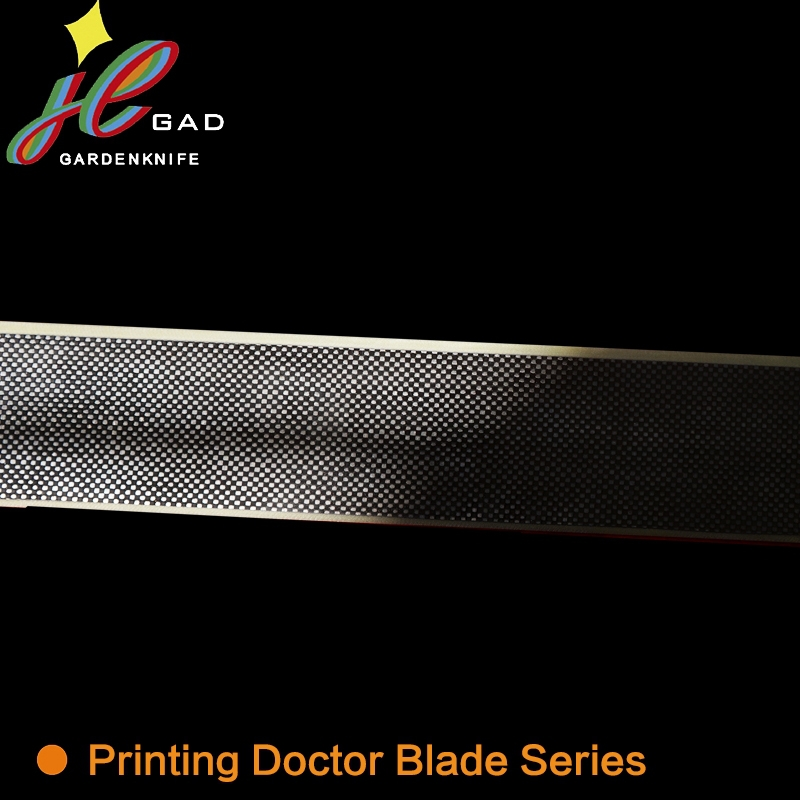Professional rotogravure printing doctor blade for coating machine
