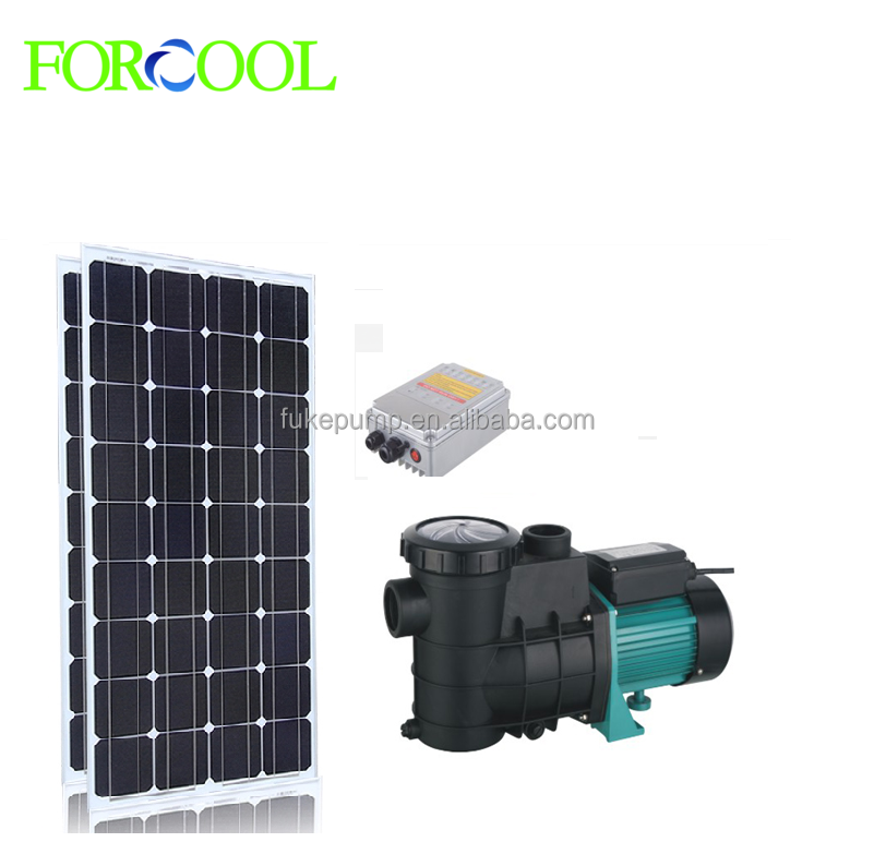 DC brushless motor solar swimming pool water pump