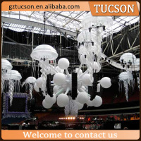 Giant Transparent Inflatable Jellyfish for Event/Party Decoration