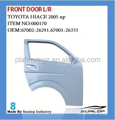 front door for toyota hiace KDH 200 commuter van