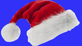 Factory wholesale Super quality red plush christmas santa hat