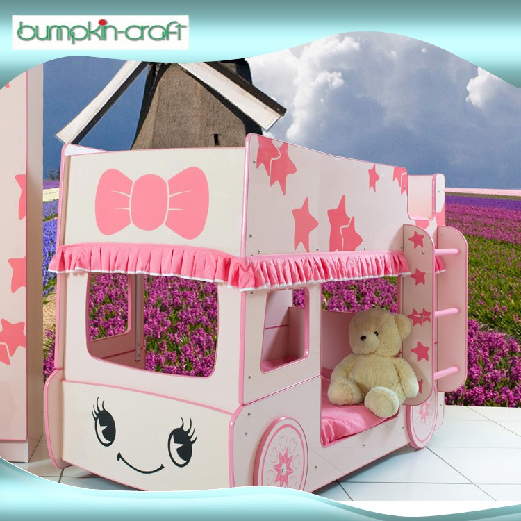 2016 High Quality Little Star Bus Bunke Bed personalised cat bunk bed