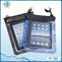 China wholesale 3 zippers waterproof case for ipad