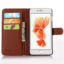 Good quality classical leather cellular case for iphone 6s plus