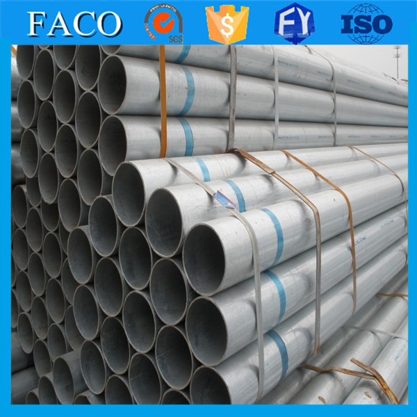 Tianjin gi pipes ! galvanized steel tubing prices bs1387 threaded end galvanized tube