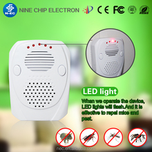 Multiple electronic ultrasonic lizard pest mosquito repeller with USB port
