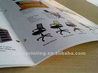 Glossy paper colorful brochure printing