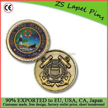 Custom quality Sector Long Island Sound Challenge Coin