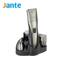 JANTE Professional Barber Rechargeable Electric Hair Clipper Heads Man Mini Trimmer Hair Shaver