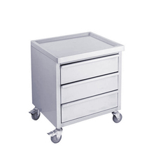 S059 Mobile Stainless Steel Work Table With 3 Drawers