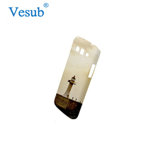Custom Design Wholesale Frosted Light Weight Plastic Blank SuWhite blimation Printing Cell 3D Phone Case for Samsung Galaxy Core