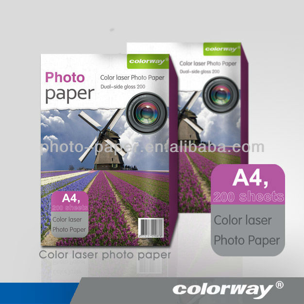 brilliant colour matte photo paper for laser printer