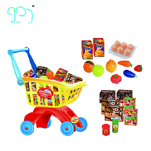 Baby Shopping Cart Toy Supermarket Food Set Shopping Toys Of Kids Toys