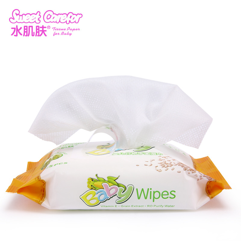 singapore restaurant custom logo pocket wet wipes