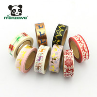 Cheap scrapbook christmas wall stickers washi tape custom print adhesive tape